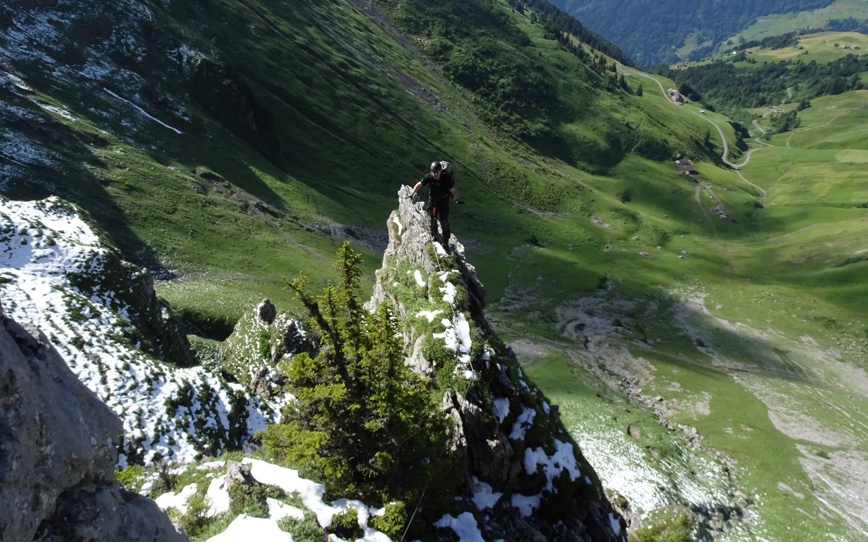 Klettersteig Fruttstägä : Biel kinzig ag klettersteig archive