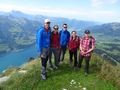 Leistchamm met LUUHC hikers