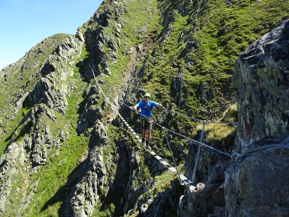 Klettersteig Hochjoch : Schruns u hochjoch downhillhoppers